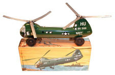US Navy HU Tin Helicopter - Made in West Germany 1960's