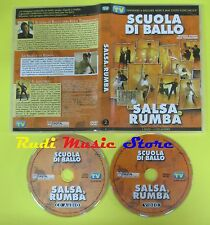 DVD SCUOLA DI BALLO SALSA & RUMBA DVD+CD TV SORRISI CANZONI vol. 2 no vhs(D5)