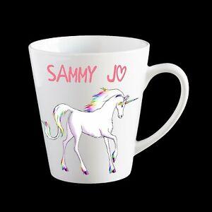 Personalised Unicorn Coffee Mug