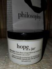 New! Philosophy Hope in a Jar Original Formula Moisturizer JUMBO 8 oz FREE SHIP!