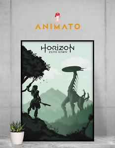 Horizon Zero Dawn poster gamer Print design NEW art print design Size - A4 A3 A2