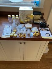 Medela Pump in Style Advanced Starter Set - Double Breastpump Bottles New Parts