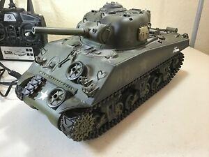Heng Long #3898 Radio Control M4A3 Sherman Tank 1:16 Scale