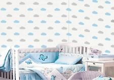 Set Wolken Wandtattoo Wandaufkleber Kinderzimmer Wolke Himmel Folie Sticker Deko