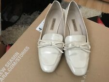 Cream shoes, size 41, from Zara