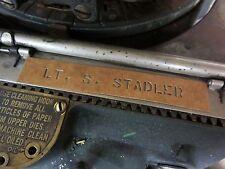 Personal Stencil Name Tag Flightjacket Fliegerjacke Equipment Lackier Schablone