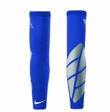 NIKE PRO VAPOR FOREARM 2.0 MLB BASEBALL SLIDER ARM SLEEVE LARGE XL BLUE NEW MENS