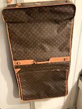 Louis Vuitton Vintage Monogram Garment Travel Bag With All Accessories