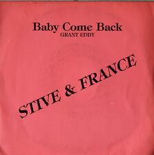 "Vinyle 45T Eddy Grant ""Baby come back"""