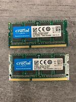 16GB (2 X 8GB ) PC3-12800S DDR3L/DDR3 SODIMM Laptop Memory - Major Brands
