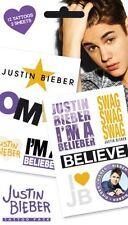 OFFICIAL Justin Bieber-Belieber-tatuaggio temporaneo Pack