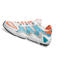 ADIDAS MENS Shoes FYW S-97 - Crystal White, Aqua & Coral - EE5306