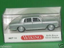 1:87 Wiking 083704 Rolls Royce Silver Shadow - silber/grau Blitzversand per DHL