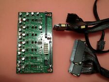 HP Proliant DL580 G5 Server SAS/SATA Backplane Board 449420-001 + Kabel & Strom