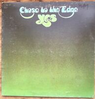 """YES """"CLOSE TO THE EDGE"""" VINYL LP 1972 (SD 7244)"""