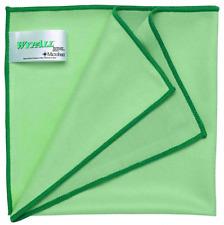 Wypall Microfibre Glass Cloth - Green - 40cm x 40cm - FREE POSTAGE
