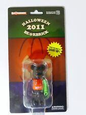 Medicom 100% Bearbrick Halloween 2011 Light Up Figure BNIB from Japan