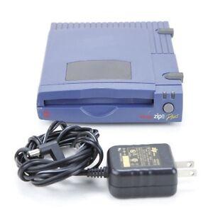Iomega SCSI / Parallel ZIP 100 Plus Zip Drive with Power Supply PC Mac Sampler