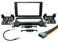 CHRYSLER JEEP DOUBLE DIN CONVERSION DASH KIT  + WIRING HARNESS & ANTENNA ADAPTER