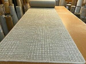 100% WOOL ECO FRIENDLY CARPET RUG STAIR OR HALL RUNNER 80cm x 697cm RRP £600
