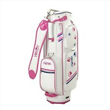 Honma Golf caddy bag Honma ladies Caddy 8.5-inch white stripe Mole Cb-6706