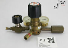 17317 SOXAL PRECISION GAS REGULATOR W/ GAUGE 4023332-000