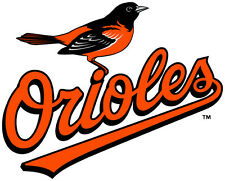 Baltimore Orioles MLB Color Die-Cut Decal / Car Sticker *Free Shipping