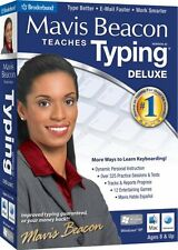 Mavis Beacon Teaches Typing 20 Deluxe PC Mac New Sealed in Box