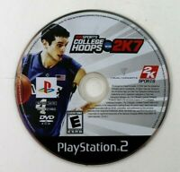 PS2 College Hoops 2K7 NCAA (Sony PlayStation 2, 2006) Disc Only Tested