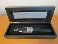 FOSSIL Star Wars Logo Limited Edition 1 of 3K Watch w/Poster Shadow Box NEW Solo