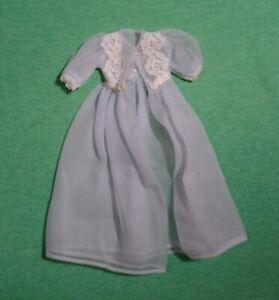 Vintage Barbie Doll Clothes - Vintage Barbie 1636 Sleeping Pretty Robe