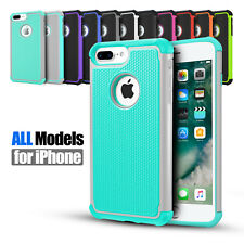 iPhone 8 / 8 Plus Shockproof Robot Armor Heavy Duty Hybrid Case Cover For Apple