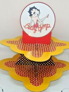 Betty Boop party Cupcake Stand birthday party or Retirement party Personalized