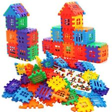 Michley Interlocking Builders Blocks Play Set,Stem Toy Educational Toys for Kids