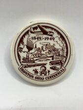 "Vintage 3"" Ironton Ohio OH Centennial Paperweight 1849-1949"