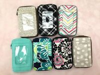 Thirty one organizer Timeless pouch wallet holder say it taupe 31 gift NO STRAP