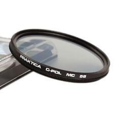 Praktica 58 mm mc filtro CPL diseño de Schneider (B + w) polarizador circular