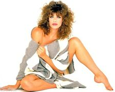 1980-1989 KELLY LeBROCK color glamour period photo (Celebrities & Musicians)