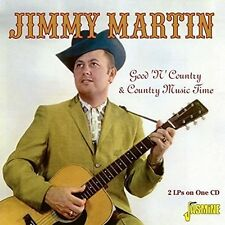 Jimmy Martin - Good N Country & Country Music Time [New CD] UK - Import