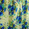 Vintage JC Penney Floral Drapes 2 Pinch Pleat Panels Insulated '60s 48 X 54 In.