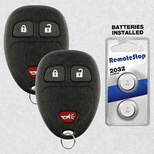 2 For 2009 2010 2011 2012 2013 2014 2015 Chevrolet Traverse Remote Key Fob