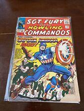 Marvel Comics SGT. FURY And His Howling Commandos #13 CAPTAIN AMERICA