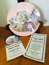 Royal Worcester Hamilton Collection First Prize #8-Kitten Classics-Coa