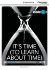 It's Time (to Learn About Time) Book With Online Access (cambridge Discovery ...
