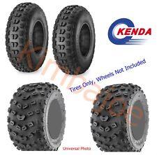 TWO (2) 22x7-10 & Two (2) 20x11-9 Kenda ATV Tires # 085321005C1 085330973C1