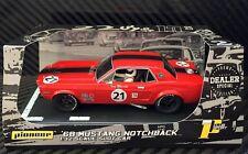Pioneer 1968 Ford Mustang Notchback #21 Dealer DPR 1/32 Scale Slot Car P012-DS