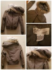 O'Neill Jacket Womens Size Small Hood Parka Faux Fur Lined