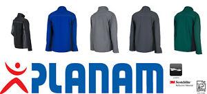PLANAM Highline Softshelljacke Arbeitsjacke Softshell - Größen: XS bis 5XL