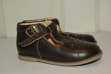 VeryRare!Brand New!Made in Spain leather shoes baby girls boys s.25 7.5-8UK