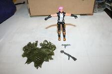 G.I. JOE COBRA 2003 v2 ZARANA Action figure near complete all accessories